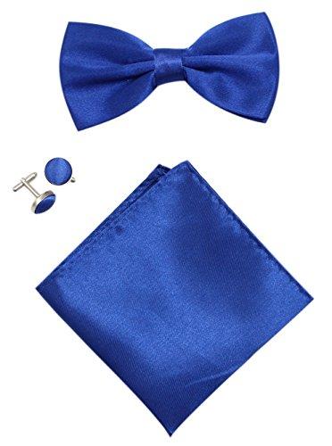 Blue Mens Tuxedo Bow - 5
