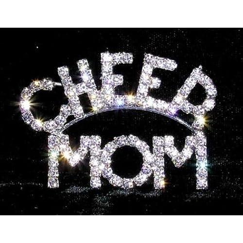 #13398 CHEER MOM pin