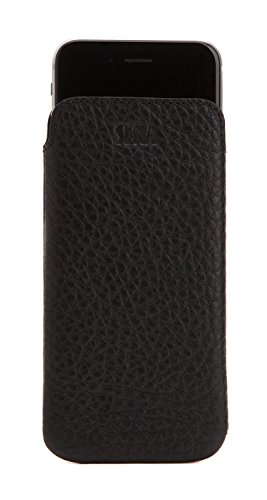 - Sena UltraSlim Classic, Thin Leather Pouch Sleeve for The iPhone 6+ 7+ 8+ Plus - Black