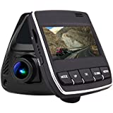 Dash Cam Pro Car Camera DVR 2.45 Screen 165 Degree Wide Angle dashboard Vehicle Video Camcorder 1080P HD for Cars, Loop Recording,WiFi
