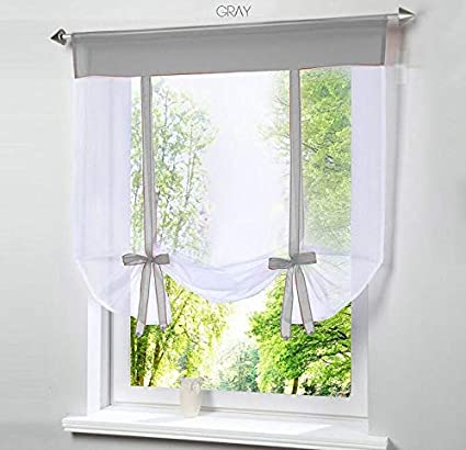 Taka Co Bay Window Curtains Window Tulle Yarn