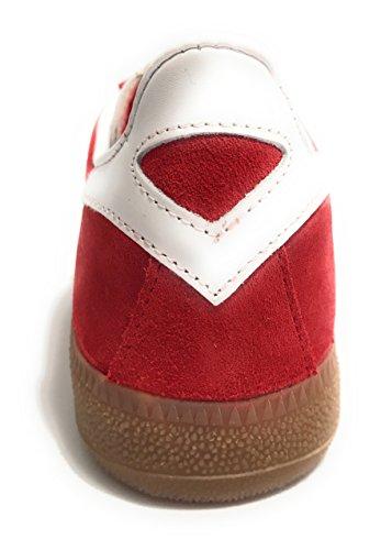 Barru Unisex Scamosciata U18mu11 bianco Pelle Rosso Rosso Scarpe Munich Sneaker q1aAxnt