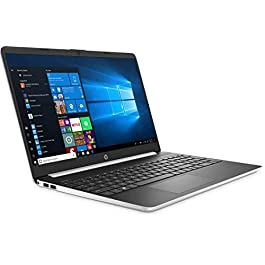 New HP 15.6″ HD Touchscreen Laptop Intel Core i3-1005G1 8GB DDR4 RAM 128GB SSD HDMI Bluetooth 802.11/b/g/n/ac Windows 10 15-dy1731ms Silver
