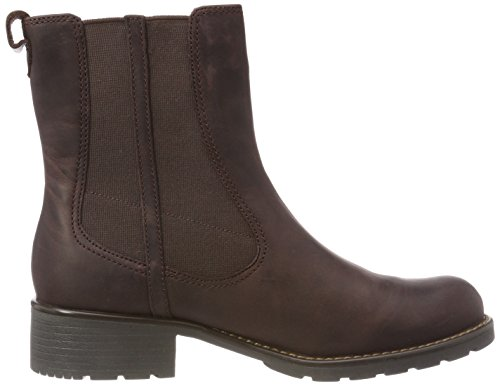 Orinoco Leather Club Burgundy Clarks Rosso da 261020474 Donna Stivale ZFFnzqx8