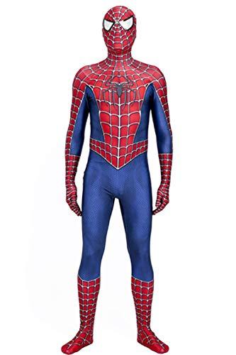 Raimi Spider-Man Costume 3D Printed Halloween Cosplay Suit (S) ()
