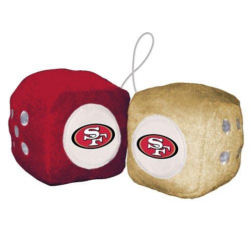 NFL San Francisco 49Ers Fuzzy Dice