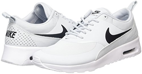 Air pure Grigio Thea Sneaker Donna Nike Platinum Max White black HO6wwR