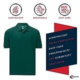 Mens Hunter Green Drifit Polo Shirt 4XL