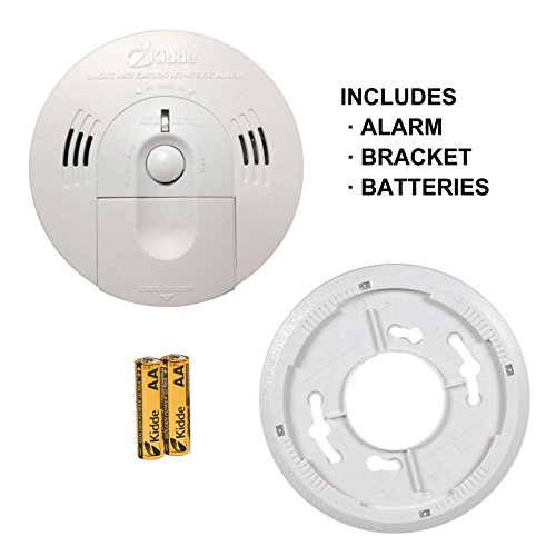 Kidde Battery Operated Combination Smoke  Carbon Monoxide Alarm KN-COSM-BA