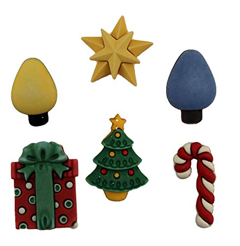 - Buttons Galore Christmas Craft & Sewing Buttons - Good Tidings - Set of 3 Cards