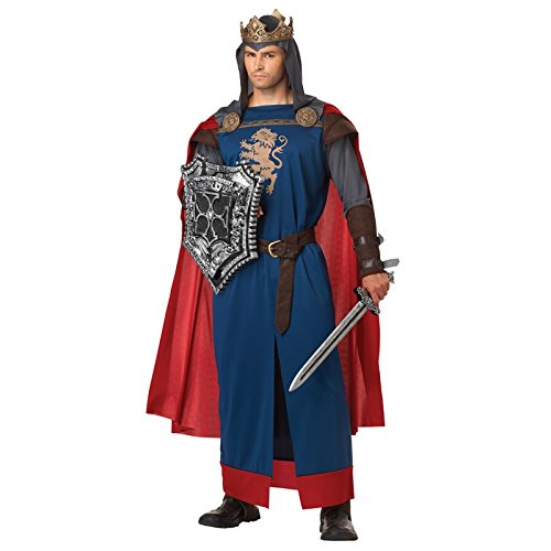 Thieves Guild Costume (California Costumes Men's Richard The Lionheart Adult, Blue/Red,)