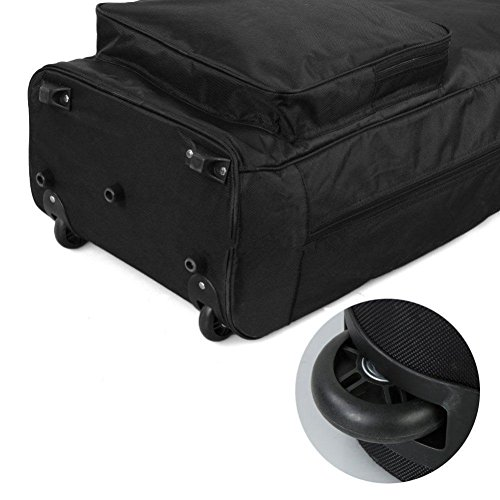 C-Pioneer Golf Travel Bag for Airlines with Wheels Golf Club Travel Cover To Carry Golf Bags by C-Pioneer (Image #4)
