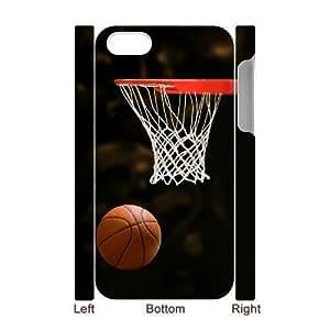 3D Bumper Plastic Case Of Basketball customized case For Iphone 4/4s wangjiang maoyi