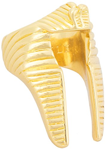 [Black Scale Pharaoh Nemes Men's Pinky Ring in Silver.] (Pharaoh Headdress)