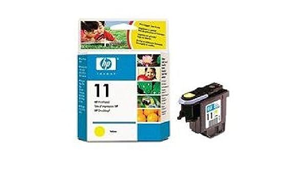 C4813 A Print Head 11 amarillo cabezal de impresión HP 11, para HP ...