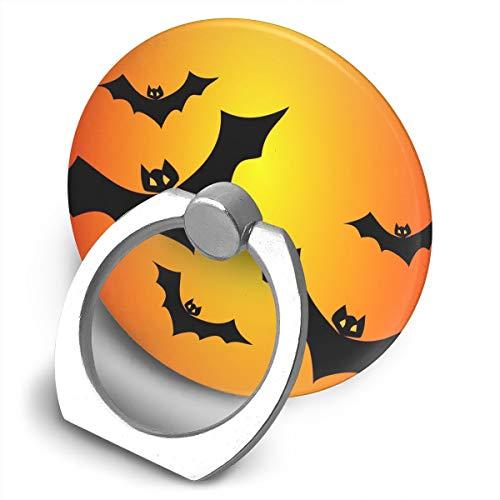 Janeither Circular Cell Phone Stand Halloween Bats Vector