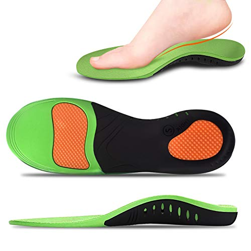 Arch Support Inserts, 1 Pair Plantar Fasciitis Feet Insoles Best Absorbing Relieve Heel Spurs & Foot Pain for Men/Women
