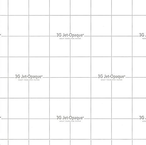 c8649f49f Amazon.com : Inkjet Printing for Dark Cotton Fabric (3G Heat Transfer Paper)  8.5