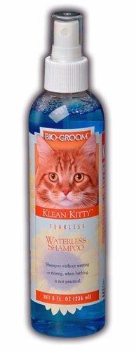 Bio-groom Waterless Klean Kitty Shampoo, 8-Ounce