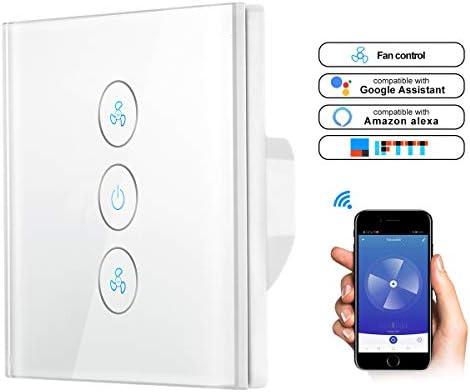 ALLOMN Interruptor de Ventilador WiFi, Controlador de Velocidad ...