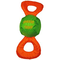 Jolly Pets Jolly Tug Tug/Squeak Toy, Large