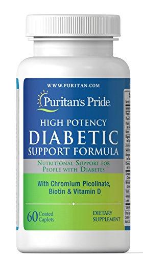 Puritan's Pride Diabetic Support Formula-60 - Formula Support Diabetic