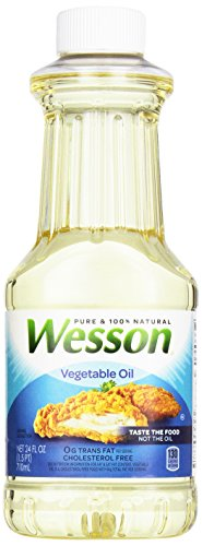 Pure Wesson 100% Natural Vegetable Oil 24 oz