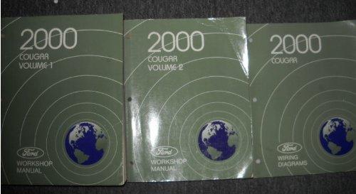 Download 2000 Mercury Cougar Repair Shop Manual 2 Volume Set Original pdf epub
