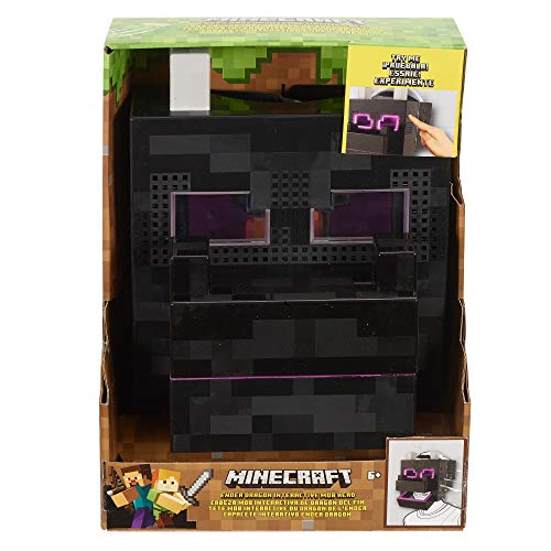 Minecraft Ender Dragon Interactive Mob Head JungleDealsBlog.com