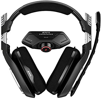 ASTRO Gaming A40 TR Wired Gaming Headset + Controller Mounted MixAmp M80 Generation 4 for Xbox One BlackRed