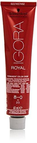 🥇 Schwarzkopf Professional Igora Royal 8-0 Tinte – 60 ml