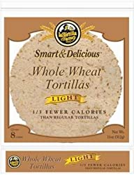 La Tortilla Factory Light Whole Wheat Tortillas, 8 Ct