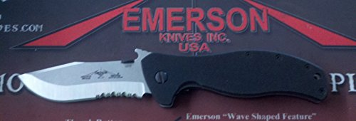 Emerson Vindicator SFS with Partial Serrated Stonewashed Blade (Emerson Patriot Knives compare prices)