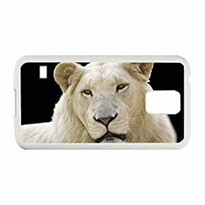 Custom Fashion Design Samsung Galaxy S5 SV Back Cover Case Personalized Customized Diy Gifts In White High-end Custom