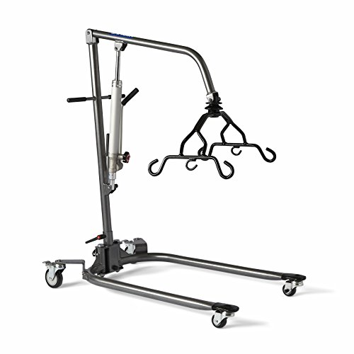 Medline Mds88200dlb Hydraulic Patient Lifts Low Clearance Amazon