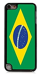 HeartCase Hard Case for Apple itouch 5g 5th Generation(flag of Brazil )