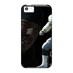 Anti-scratch And Shatterproof Oakland Raiders Phone Case For Iphone 5c/ High Quality Tpu Case by lolosakes