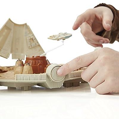 Star Wars The Force Awakens Micro Machines Millennium Falcon Playset: Hasbro: Toys & Games