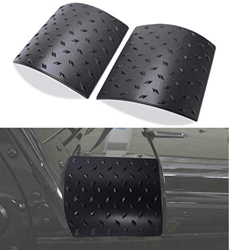 Bentolin Latest Durable Black Cowl Body Armor - Pair Jeep Wrangler Rubicon Sahara Jk & Unlimited 2007-2018 (Latest Upgrade Version)