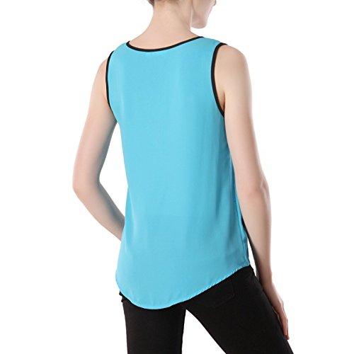 La Modeuse Top en material ligero Azul
