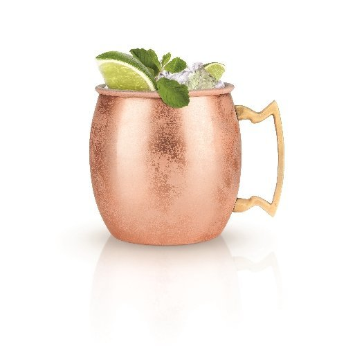 Insulated Case Cocktail (Mug, Moscow Copper Cocktail Stainless Steel Insulated Mule Mug (Sold by Case, Pack of 6))