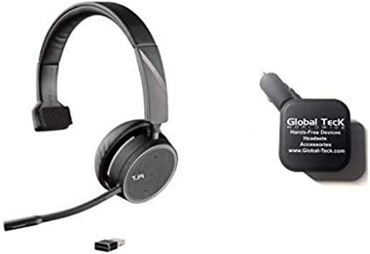 Black OTG Micro-USB works with Plantronics Voyager 4220 P//N 211996-01 for connecting any compatible USB Accessory//Device//Drive//Flash// and truly On-The-Go! POWERED
