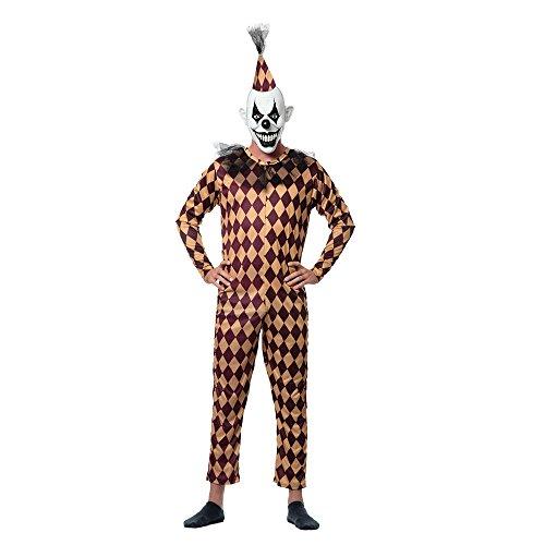 Sponch Evil Prank Clown Adult Halloween Costume, Large ()