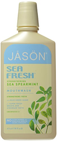 Jason Natural Cosmetics  Sea Fresh Mouthwash, Deep Sea Spearmint, 16 oz