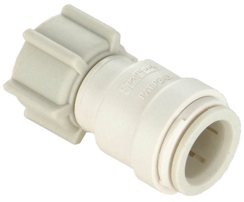 Watts P-615 Quick Connect Female Adapter, 1/2-Inch CTS x 1/2-Inch FPT