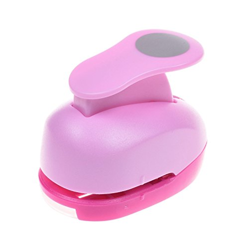 1 inch Circle Paper Craft Punch Tool for Scrapbook Greeting Crads DIY Handmake Projects (1 Circle Punch)