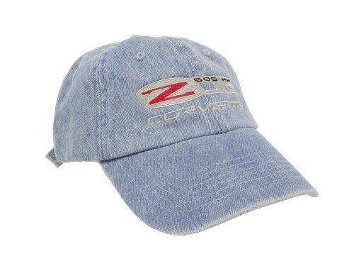 Corvette C6 Z06 Blue Denim Hat