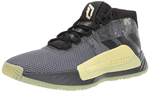 adidas Men's Dame 5 Basketball Shoe, Grey/Black, 8.5 M US (Nette Damen)