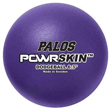 "Palos POWRSkin 6.3"" Dodgeball Set of 6 Colors"