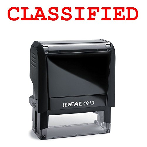Classified Rubber Stamp for Office Use Self-inking